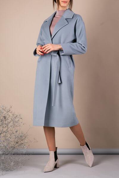 Пальто из тонкой шерсти MMT_093_blue, фото 1 - в интеренет магазине KAPSULA