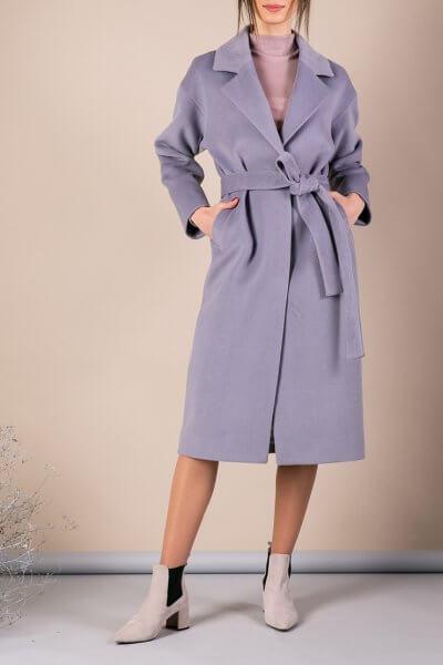 Пальто из плотной шерсти MMT_093_gray_blue, фото 1 - в интеренет магазине KAPSULA