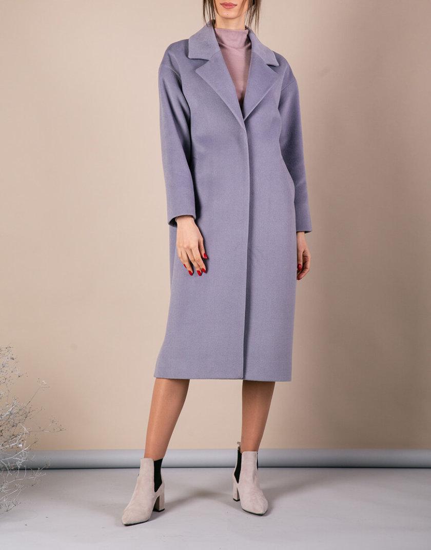 Пальто из плотной шерсти MMT_093_gray_blue, фото 1 - в интернет магазине KAPSULA