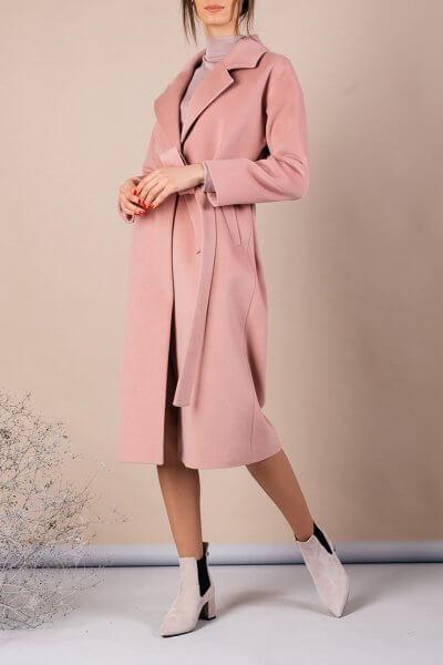 Пальто из плотной шерсти MMT_093_pudra, фото 1 - в интеренет магазине KAPSULA