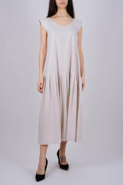 Хлопковое платье с карманом MNTK_MTDRS203, фото 5 - в интеренет магазине KAPSULA