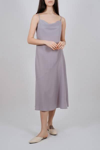 Платье миди на тонких бретелях MNTK_MTDRS207, фото 3 - в интеренет магазине KAPSULA