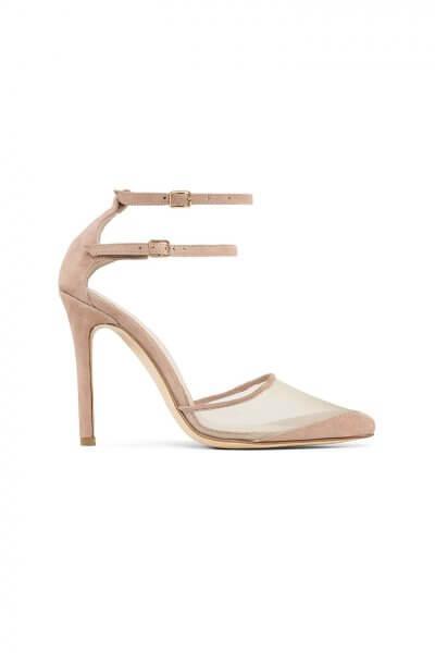 Замшевые туфли Goya Nude MRSL_197103, фото 4 - в интеренет магазине KAPSULA