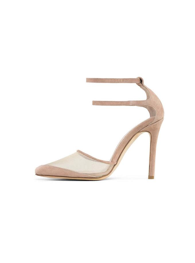 Замшевые туфли Goya Nude MRSL_197103, фото 1 - в интеренет магазине KAPSULA