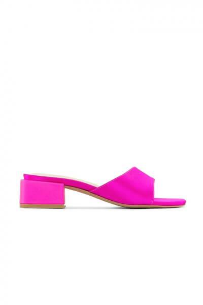 Кожаные слайдеры Rio Pink MRSL_471941, фото 1 - в интеренет магазине KAPSULA