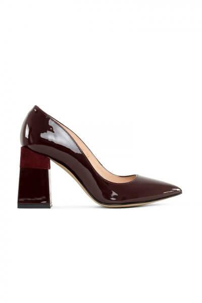 Кожаные туфли Beverly Bordeaux MRSL_725406, фото 4 - в интеренет магазине KAPSULA