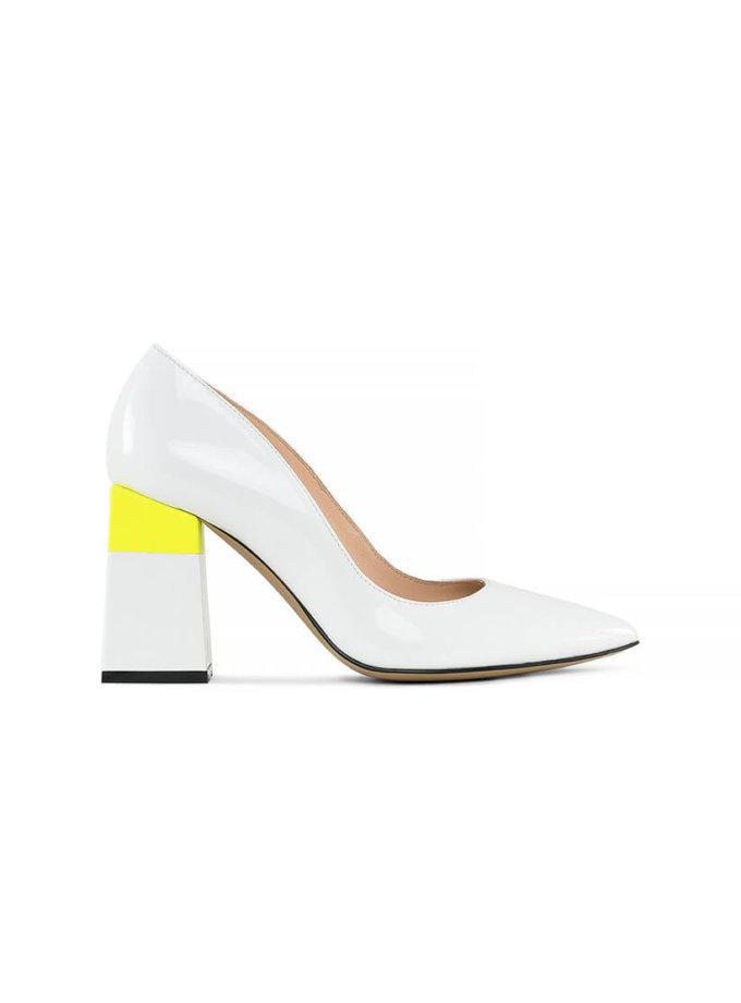 Кожаные туфли Beverly White MRSL_725416, фото 1 - в интеренет магазине KAPSULA