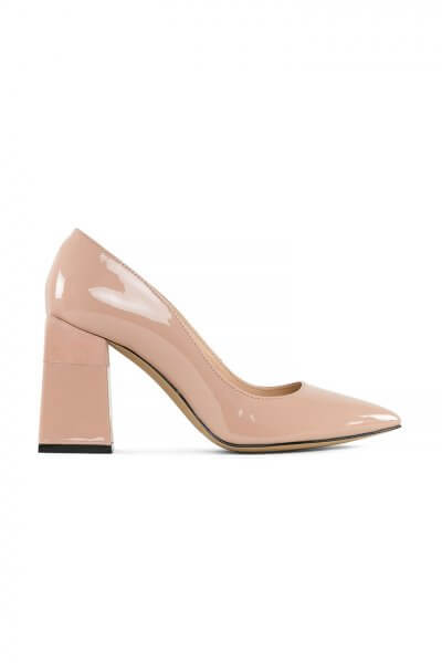 Кожаные туфли Beverly Nude MRSL_725426, фото 1 - в интеренет магазине KAPSULA