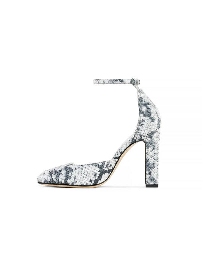 Туфли Mary Jane Python из кожи MRSL_993613, фото 1 - в интеренет магазине KAPSULA