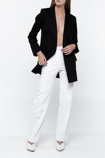 Прямые брюки из денима NM_335, фото 1 - в интеренет магазине KAPSULA