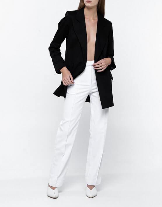 Прямые брюки из денима NM_335, фото 2 - в интеренет магазине KAPSULA