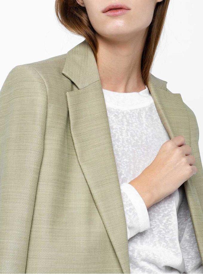 Жакет из тонкой шерсти на подкладе NM_367, фото 1 - в интернет магазине KAPSULA