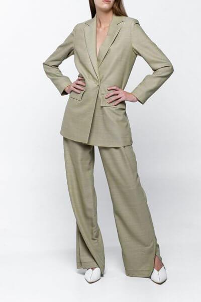 Широкие брюки из тонкой шерсти NM_368, фото 1 - в интеренет магазине KAPSULA