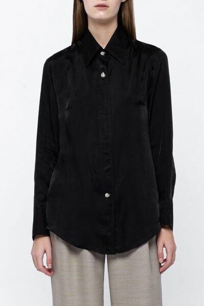Классическая рубашка на пуговицах NM_380, фото 5 - в интеренет магазине KAPSULA