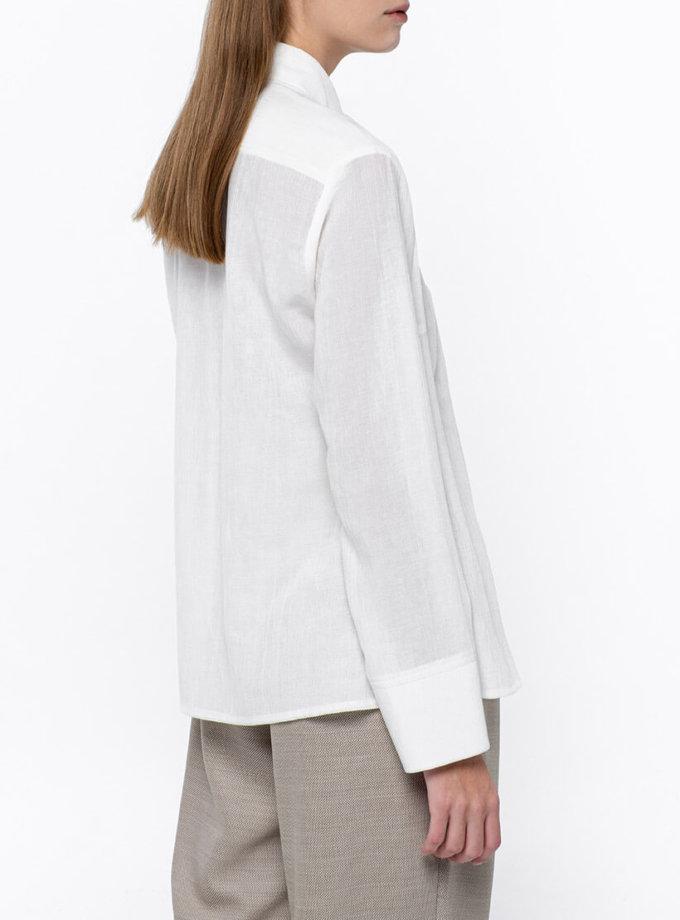 Классическая рубашка на пуговицах NM_381, фото 1 - в интернет магазине KAPSULA