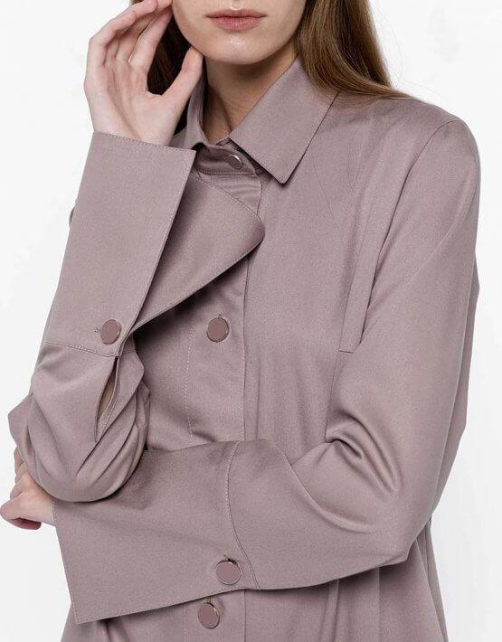 Платье-рубашка из хлопка NM_382, фото 4 - в интеренет магазине KAPSULA