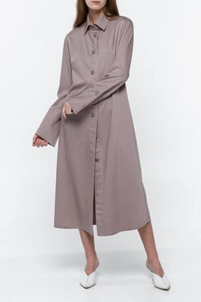 Платье-рубашка из хлопка NM_382, фото 2 - в интеренет магазине KAPSULA