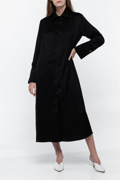 Платье-рубашка из хлопка NM_383, фото 5 - в интеренет магазине KAPSULA