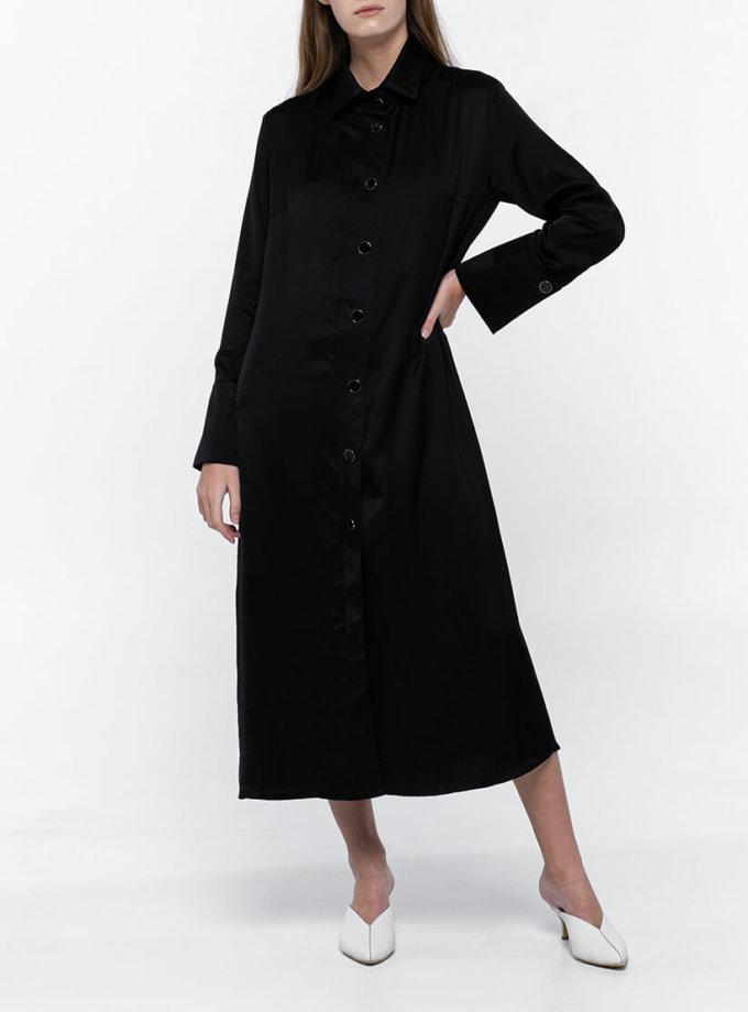 Платье-рубашка из хлопка NM_383, фото 1 - в интеренет магазине KAPSULA