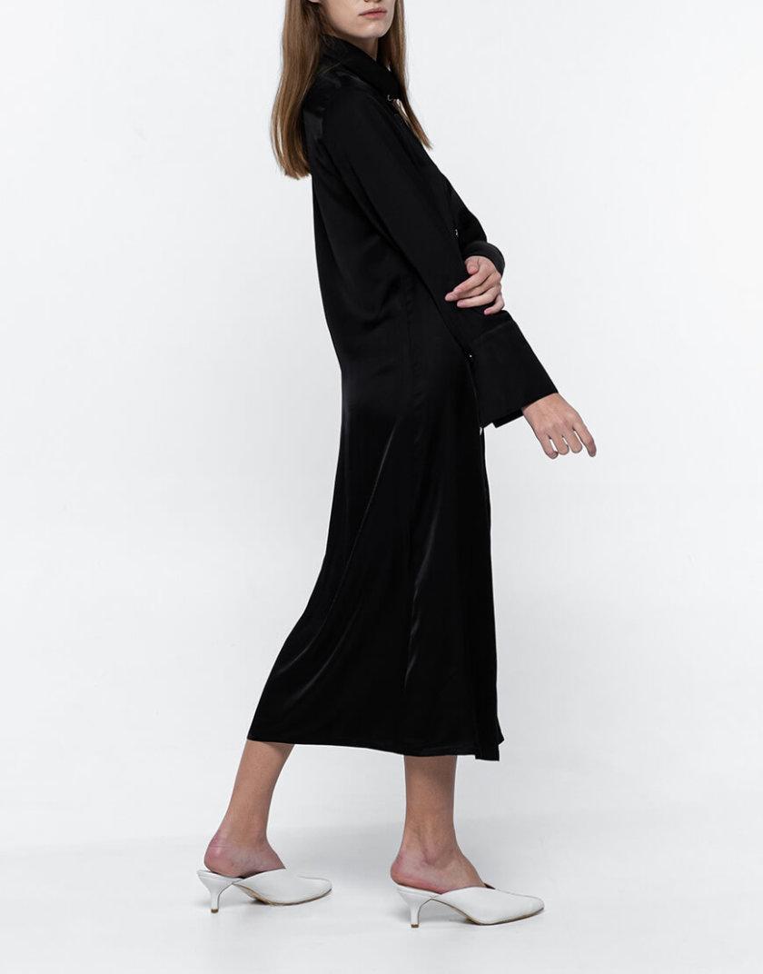 Платье-рубашка из хлопка NM_383, фото 1 - в интернет магазине KAPSULA