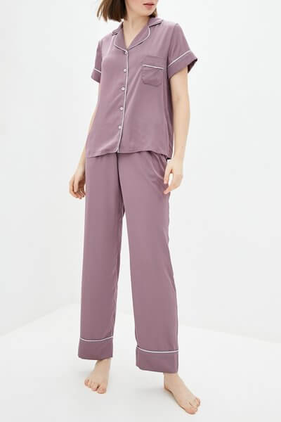 Пижамный комплект с брюками BAS_PS_MhL-12, фото 1 - в интеренет магазине KAPSULA