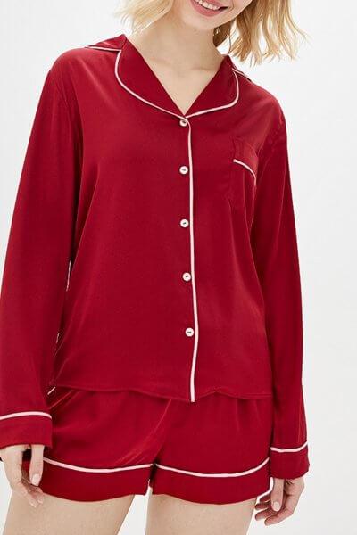 Пижама с шортами на резинке BAS_PS-MhM-21, фото 1 - в интеренет магазине KAPSULA