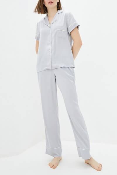 Пижамный комплект с брюками BAS_PS_MhPG-12, фото 1 - в интеренет магазине KAPSULA