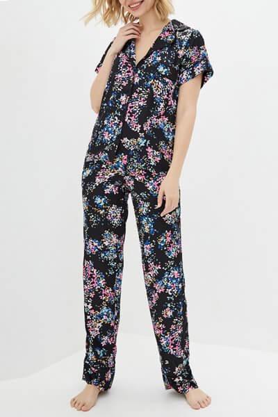 Пижамный комплект с брюками BAS_PS_PrG-12, фото 1 - в интеренет магазине KAPSULA