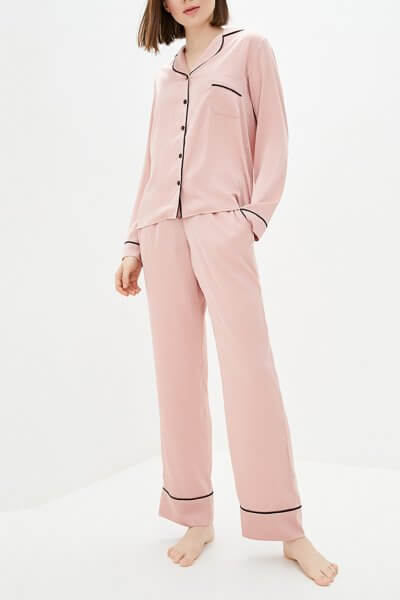 Легкая пижама с брюками BAS_PS_MhB-22, фото 1 - в интеренет магазине KAPSULA