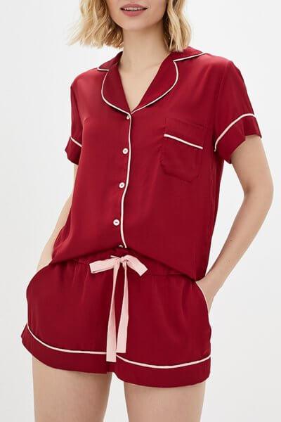 Пижамный комплект с шортами BAS_PS-MhM-11, фото 1 - в интеренет магазине KAPSULA