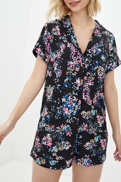 Пижамный комплект с шортами BAS_PS_PrG-11, фото 1 - в интеренет магазине KAPSULA