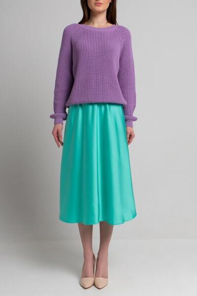 Легкая юбка миди SVST_ААВ-1-skirt-blue, фото 1 - в интеренет магазине KAPSULA