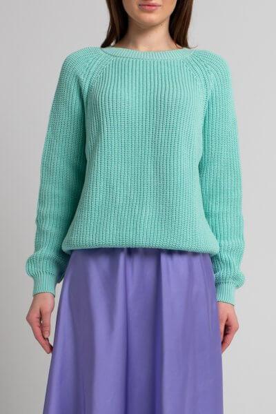 Джемпер из хлопка SVST_ААВ-1-sweater-blue, фото 1 - в интеренет магазине KAPSULA