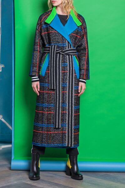 Пальто из шерсти с яркой отделкой TBC_069w_1304, фото 1 - в интеренет магазине KAPSULA