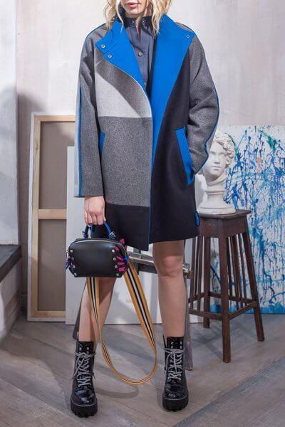 Укорочённое пальто из шерсти TBC_070w_2020, фото 1 - в интеренет магазине KAPSULA