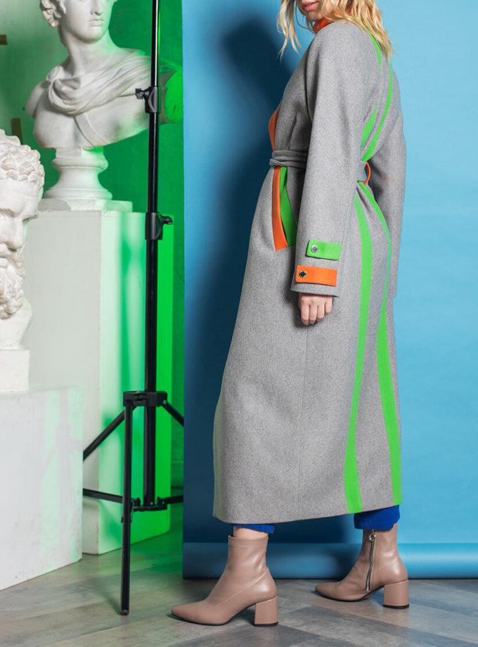 Пальто из шерсти с яркой отделкой TBC_071w_02017, фото 1 - в интернет магазине KAPSULA