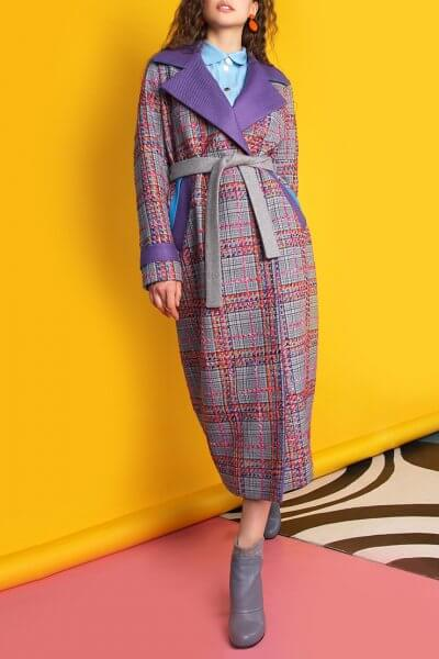 Пальто из тонкой шерсти с вышивкой TBC_073w_1919, фото 1 - в интеренет магазине KAPSULA