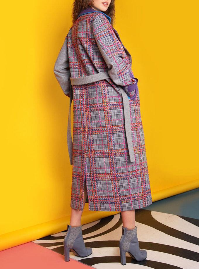 Пальто из тонкой шерсти с вышивкой TBC_073w_1919, фото 1 - в интернет магазине KAPSULA