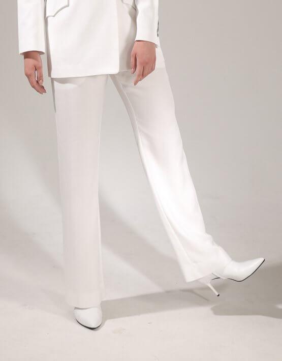 Прямые брюки средней посадки VONA-SS-20-1, фото 2 - в интеренет магазине KAPSULA