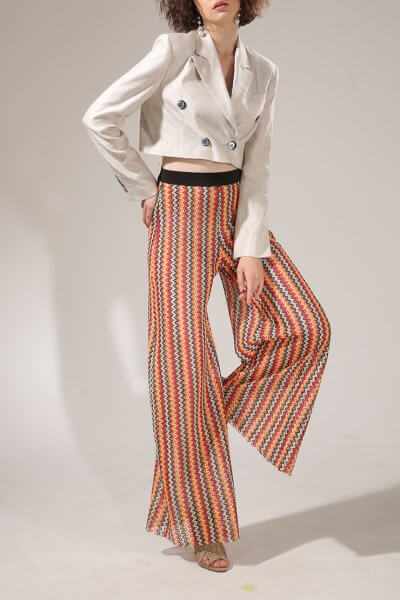 Легкие брюки из сетки VONA-SS-20-20, фото 2 - в интеренет магазине KAPSULA