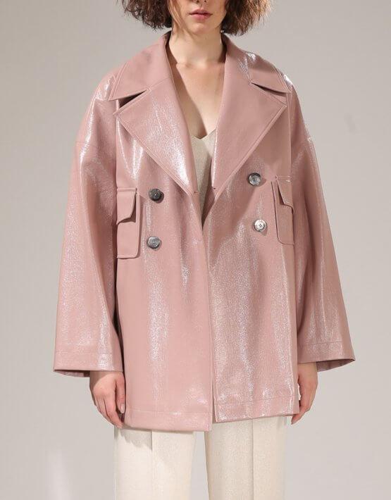 Куртка из эко-кожи VONA-SS-20-26, фото 2 - в интеренет магазине KAPSULA