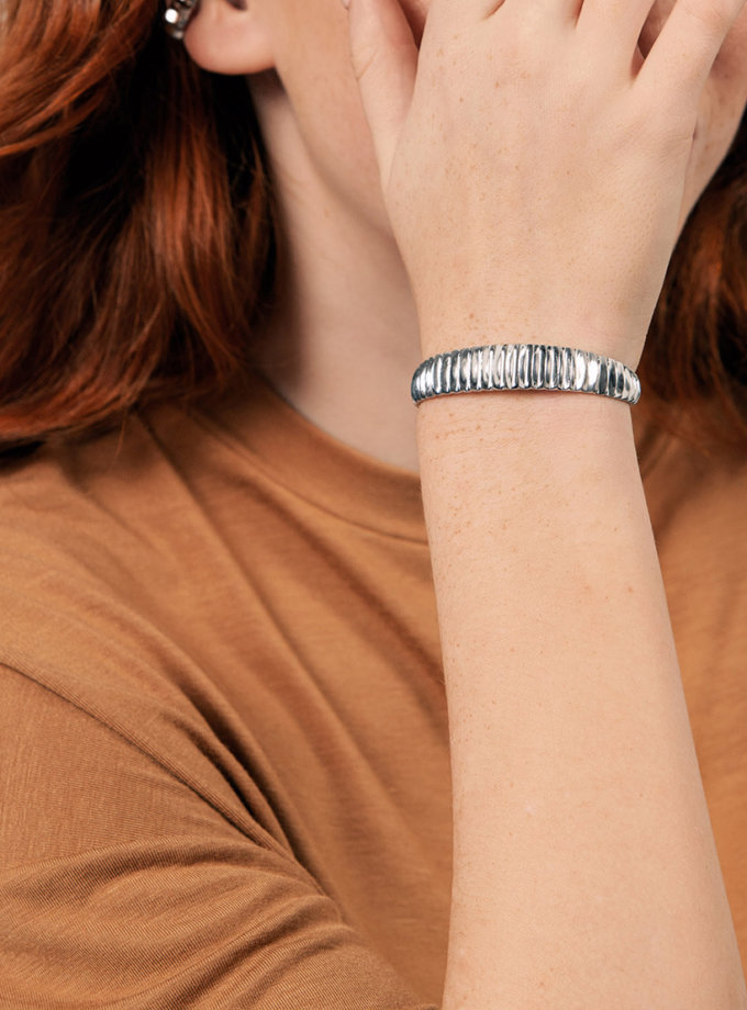 Серебрянный браслет Madagascar YSB_B-7019, фото 1 - в интеренет магазине KAPSULA