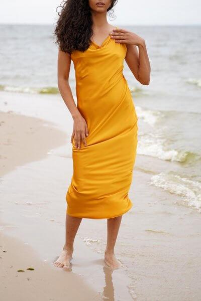 Платье на тонких бретелях Eva MC_MY1420, фото 1 - в интеренет магазине KAPSULA