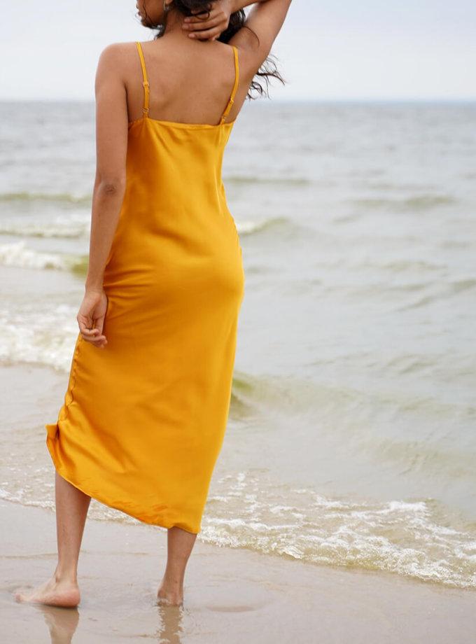 Платье на тонких бретелях Eva MC_MY1420, фото 1 - в интернет магазине KAPSULA