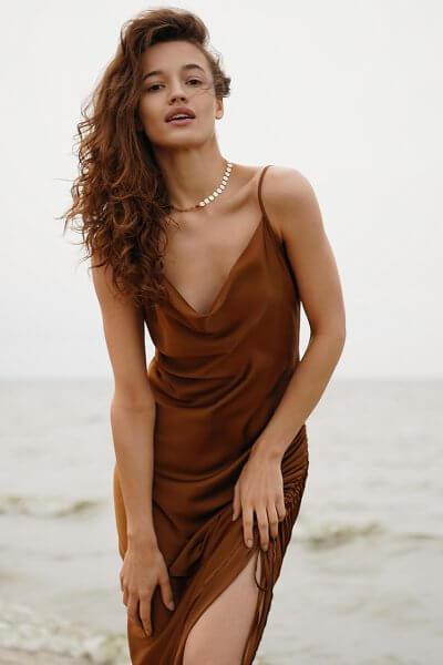 Платье на кулиске Muse MC_MY1620, фото 6 - в интеренет магазине KAPSULA