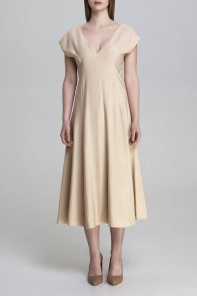 Платье миди из хлопка AIR_DRS2003-bg, фото 3 - в интеренет магазине KAPSULA