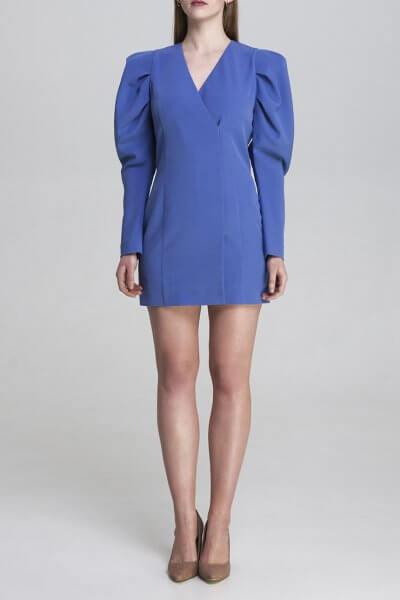 Платье мини с обьемными рукавами AIR_DRS2005-b, фото 6 - в интеренет магазине KAPSULA