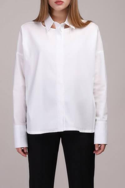 Рубашка свободного кроя из хлопка BL_BL-19-009K, фото 1 - в интеренет магазине KAPSULA