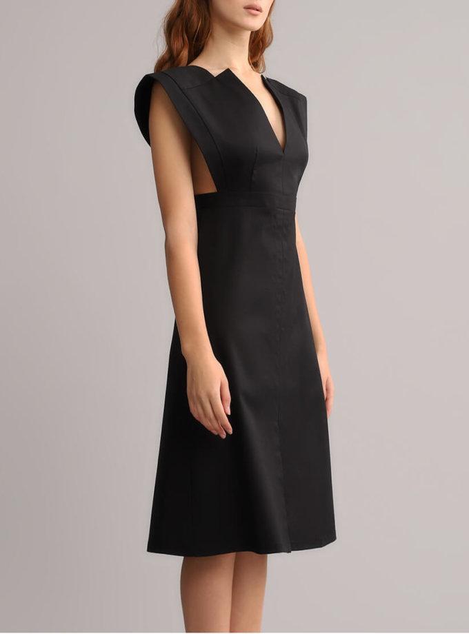 Платье трапеция без рукавов BL_BL-19-064, фото 1 - в интернет магазине KAPSULA