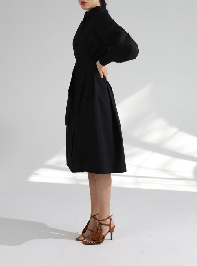Платье рубашка из хлопка BL_PL-19-084, фото 1 - в интернет магазине KAPSULA